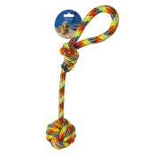 Cotton Rope with Ball and Loop Beach - 54cm - Mixed