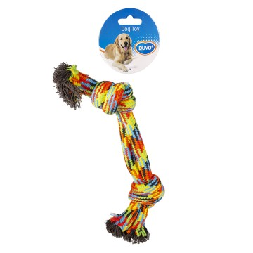 Double Knotted Cotton Rope Beach - 28cm - Mixed