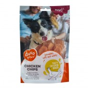 Duvo+ meat! - Chicken Chips - 80g - Nyhet!