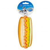Hundlek Duvo Latex - Hot Dog - 16x7x6cm - Ny2020 - Ny2020