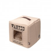 Kryp-In Kub med dyna - Wanted - 40x40x40cm - Beige