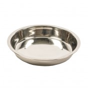 Inox Puppy Feeding Tray - ø20cm - 740ml