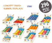 Start Koncept 2580 - Hundlek - Duvo Gummi - Displayer - 296st, 10 varianter