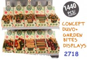 Start Koncept 2718 - Tugg - Duvo Garden Bites - Displayer - 1440st, 10 varianter